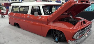 1966 Chevrolet Suburban Street Truck is an Absolute Custom From Chassis to Interior
