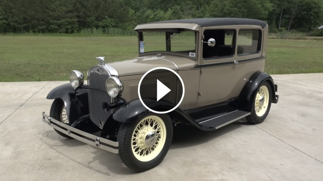 Big oak garage 39 s 1931 ford model a street rod is as for Garage ford froideconche