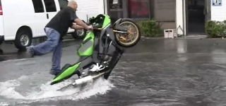 Check out This Crazy Rider's Incredible Performance on Water!