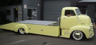 Spectacular Piece of Machinery: 1948 Chevrolet COE Customized by Wilpro Custom Auto & Engineering