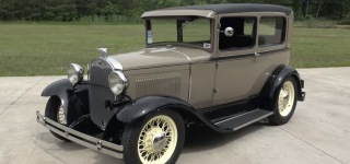 Big Oak Garage's 1931 Ford Model A Street Rod is As Charismatic as Al Pacino in Scarface