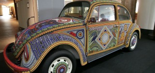 This Amazing VW Beetle Car-Art is Covered in 2 Million Glass Beads