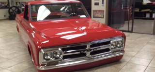 Stunningly Beautiful Fully Customized 1968 GMC Pickup Truck for You to Enjoy