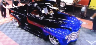 1950 Chevy Truck Customized by Cope Design Looks Fabulous Under the Spotlights