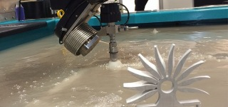 Oddly Satisfying Compilation of Waterjet Cutting Process