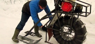 Snow is Fun When you Have the Right Equipment: Setting Up Karakat Snowmobile