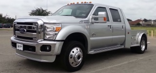 Ford F550 Super Duty Truck with a High Quality Custom Built Hauler
