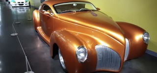 1939 Lincoln Zephyr is Waiting For You at the America's Car Museum!