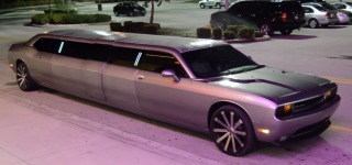 Dodge Challenger Limousine by Clean Ride Limo is the Mind-Blowing Combination of Muscle Car and Luxury