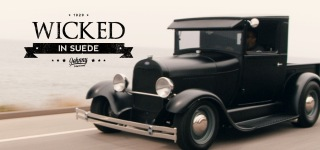 "Johnny Martinez's Ultimate Project: 1929 Ford Model A Hot Rod ""Wicked in Suede"""