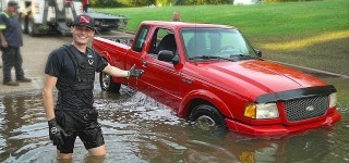 Saving a Truck Got Almost Completely Underwater: Will it Work or Not?