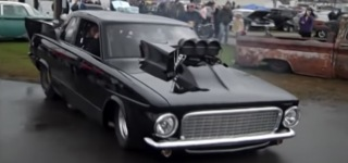 2500Hp Street Legal 1963 Plymouth Valiant Will Give You an Intense Eargasm