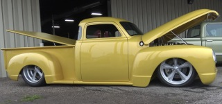 "Code Name ""Conundrum"": 510HP LT5 Corvette Powered 1948 Chevy Pickup Truck"