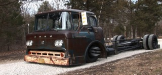 Junkyard-Rescue 1958 Ford Cabover Truck is Probably the Baddest Thing You Can Ever See!